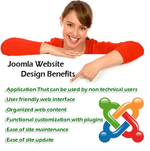 Joomla Custom Website Design